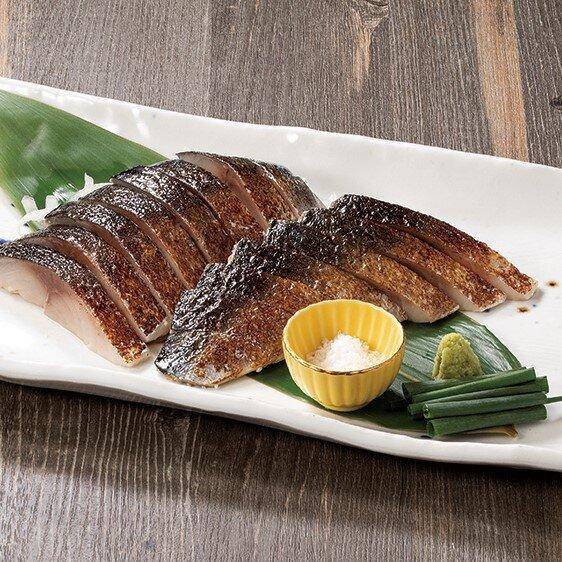 藁焼きとろ〆鯖