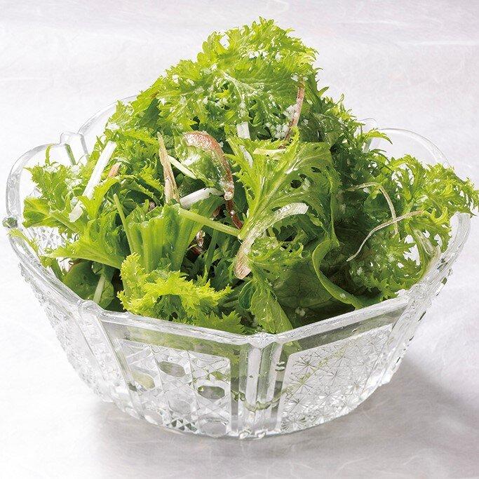 藁焼きの為のグリーンサラダ