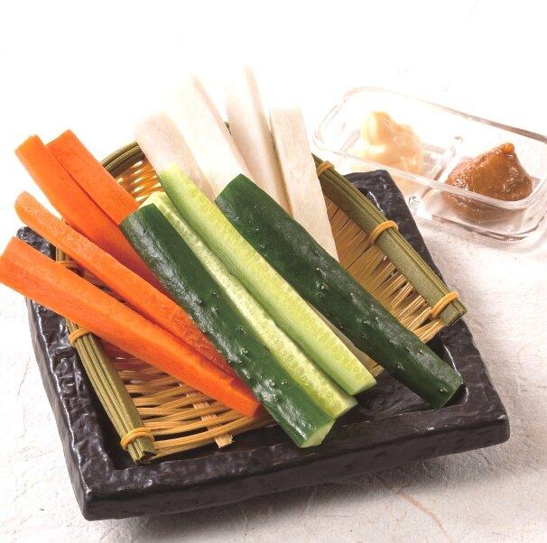 野菜スティック盛合せ