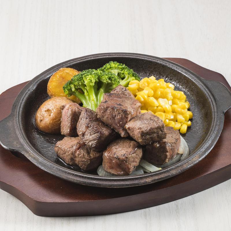 牛ミスジ肉のカットステーキ
