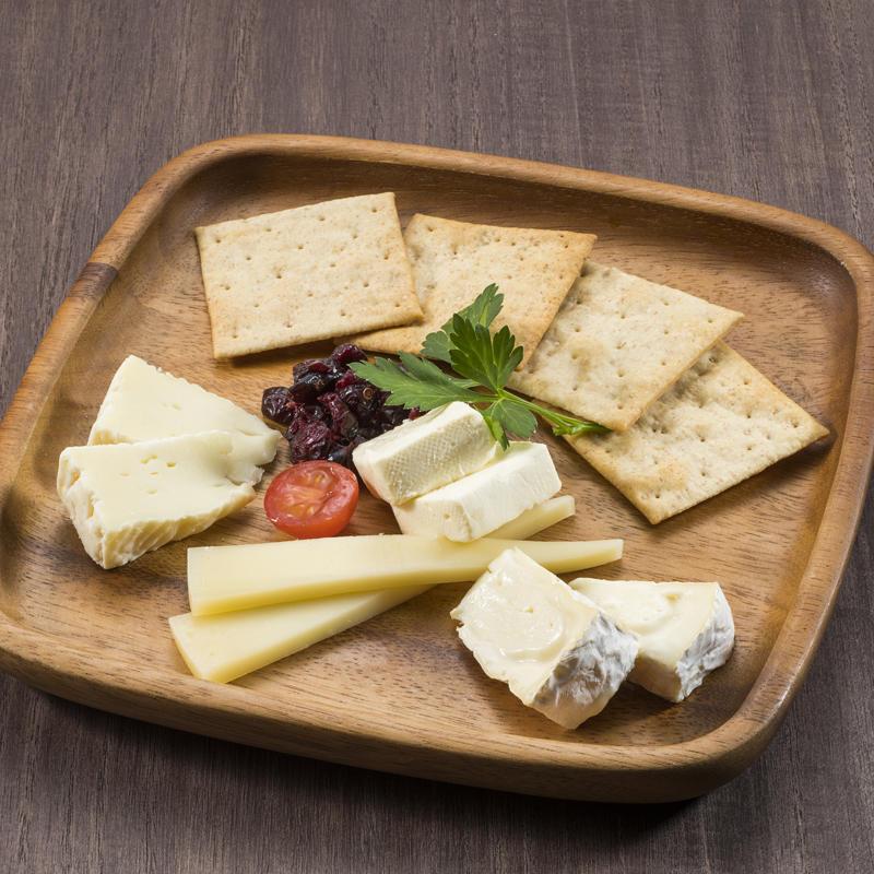 北海道チーズの盛合せ