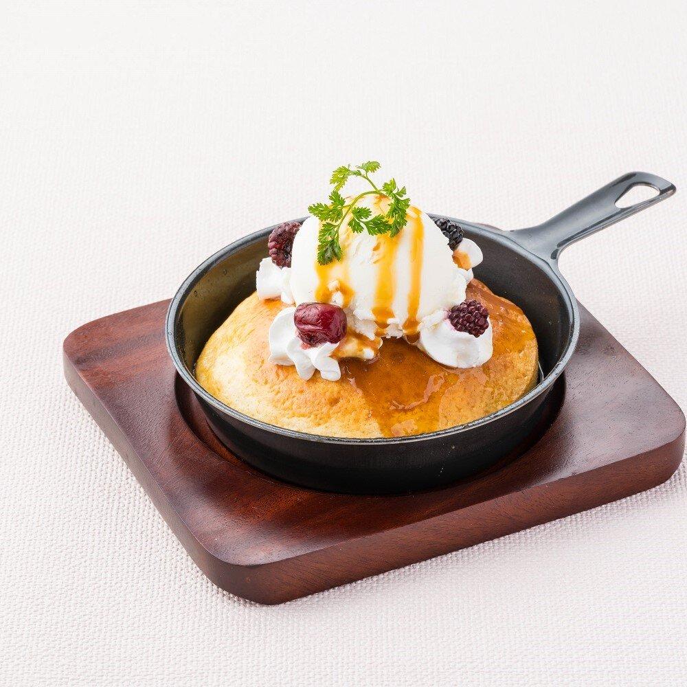 スキレットパンケーキ~キャラメル&バニラ~
