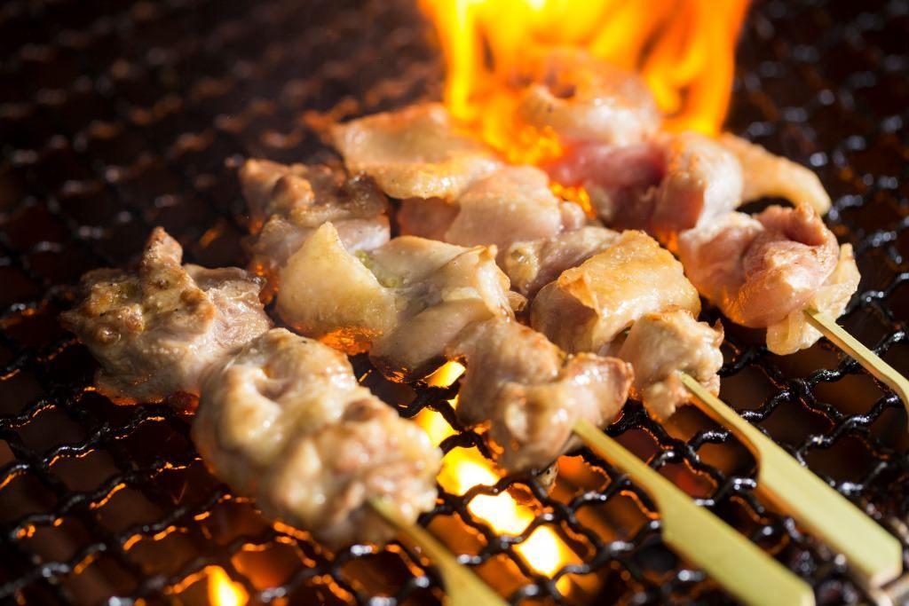 名古屋コーチン 串焼き