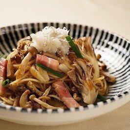 和風きのこのスパゲティ