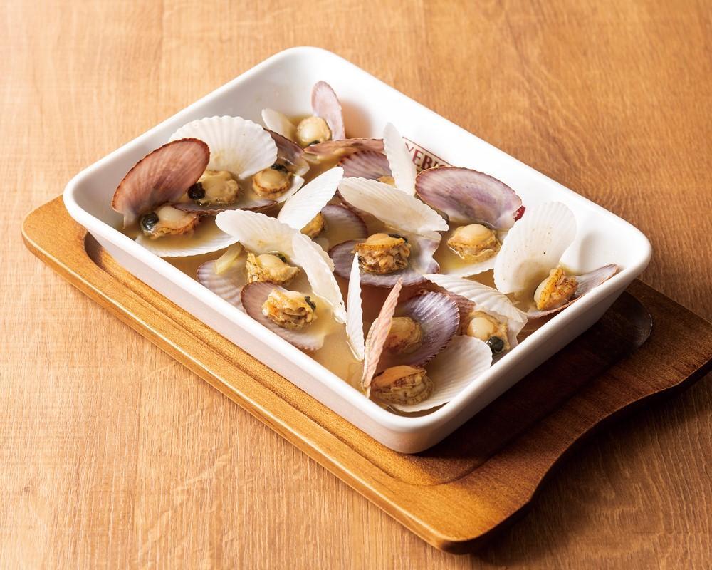 北海道産 帆立稚貝のバター醤油蒸し