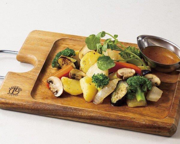 焼き野菜のおつまみサラダ