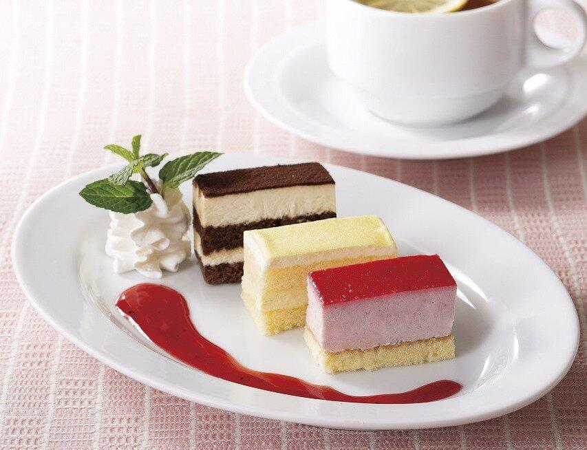 3種のアイスケーキ