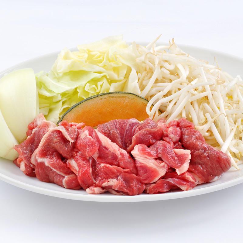 生ラムジンギスカン野菜セット