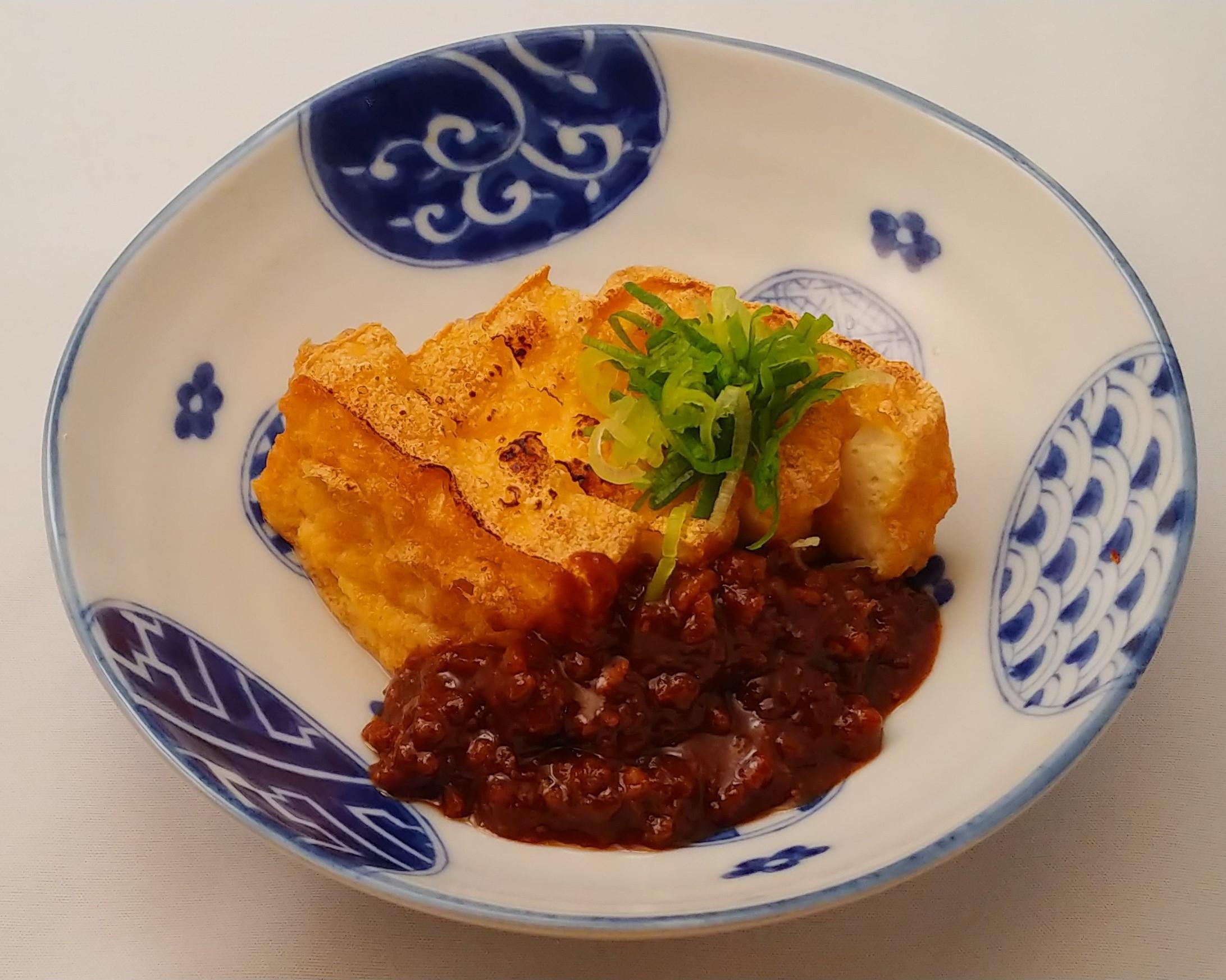 厚揚げ豆腐 肉味噌