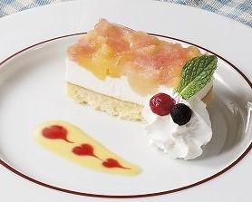 アップル&ピーチケーキ