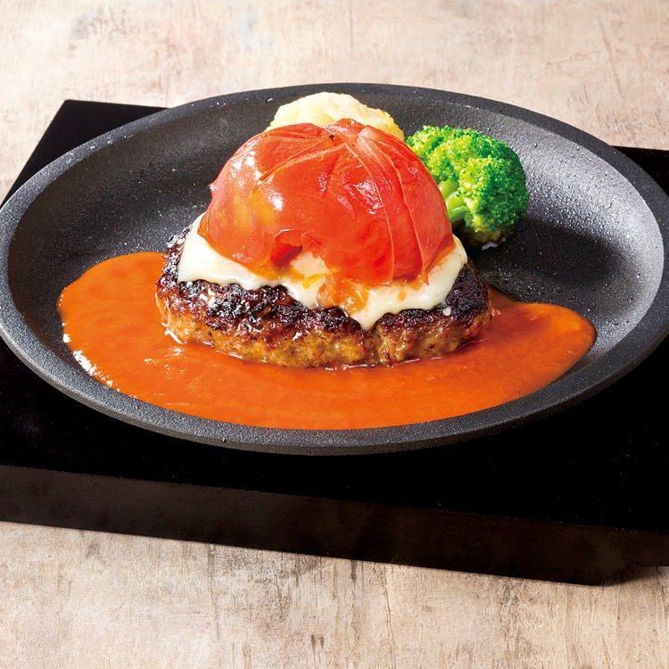 トマト&チーズ ハンバーグ