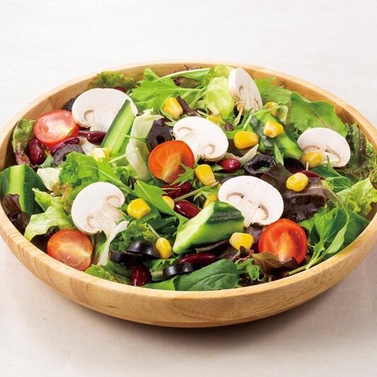 彩りグリーンサラダ