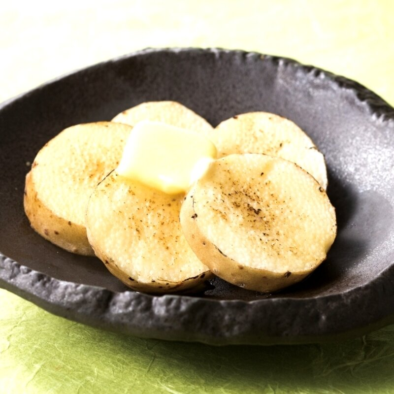 長芋のバター醤油焼き