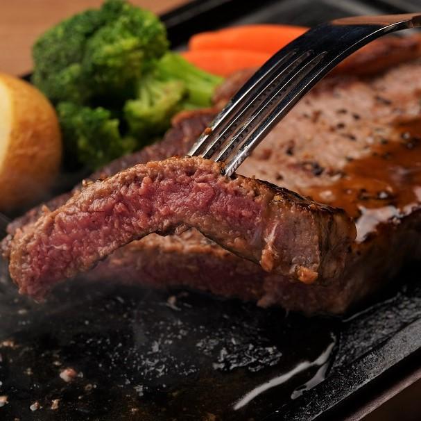 広島牛のステーキ