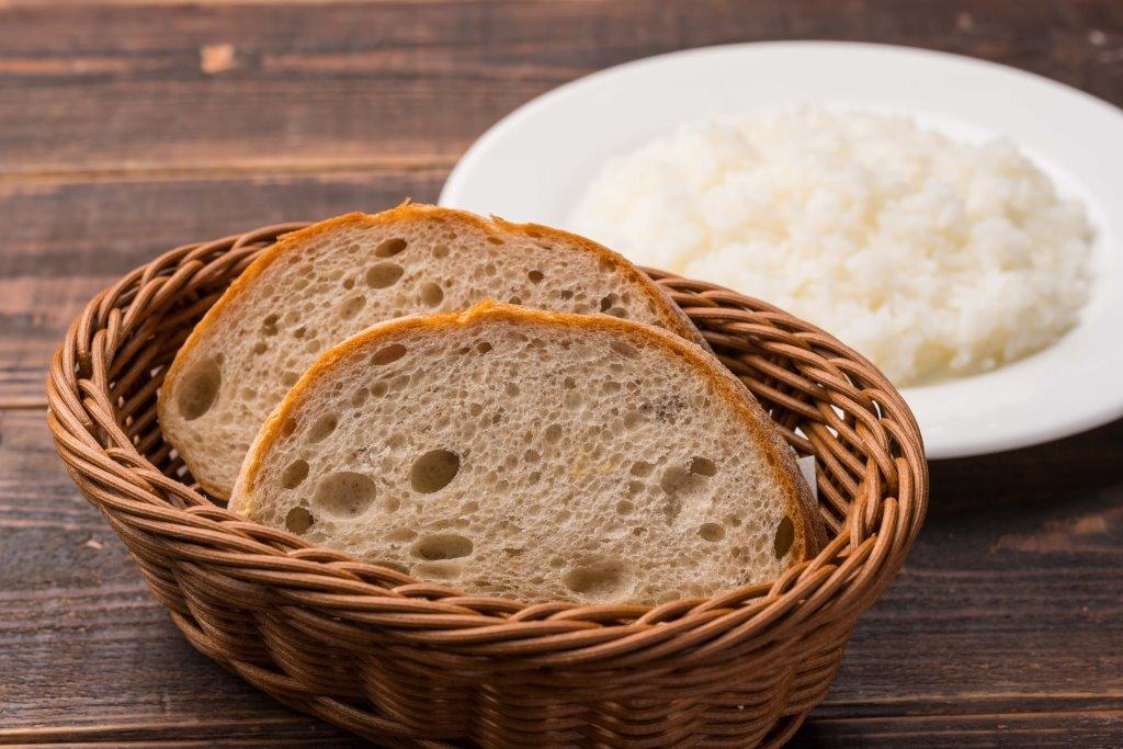 「ライスorパン」