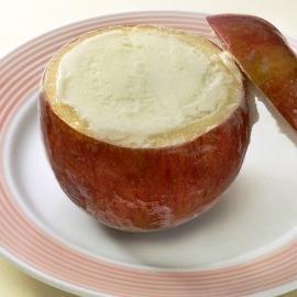 リンゴシャーベット