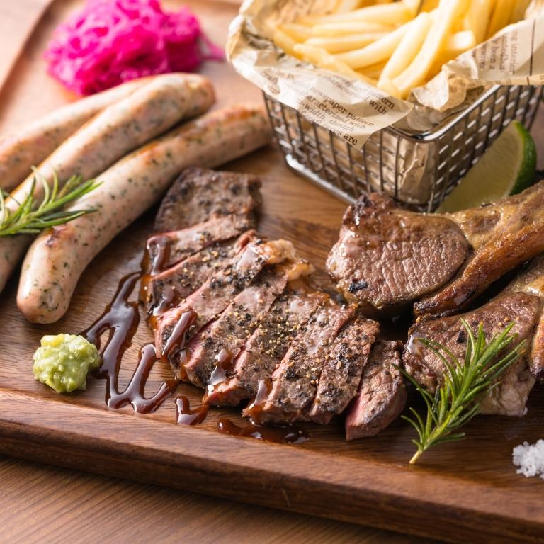 肉の競演 KOYOENグリルプレート