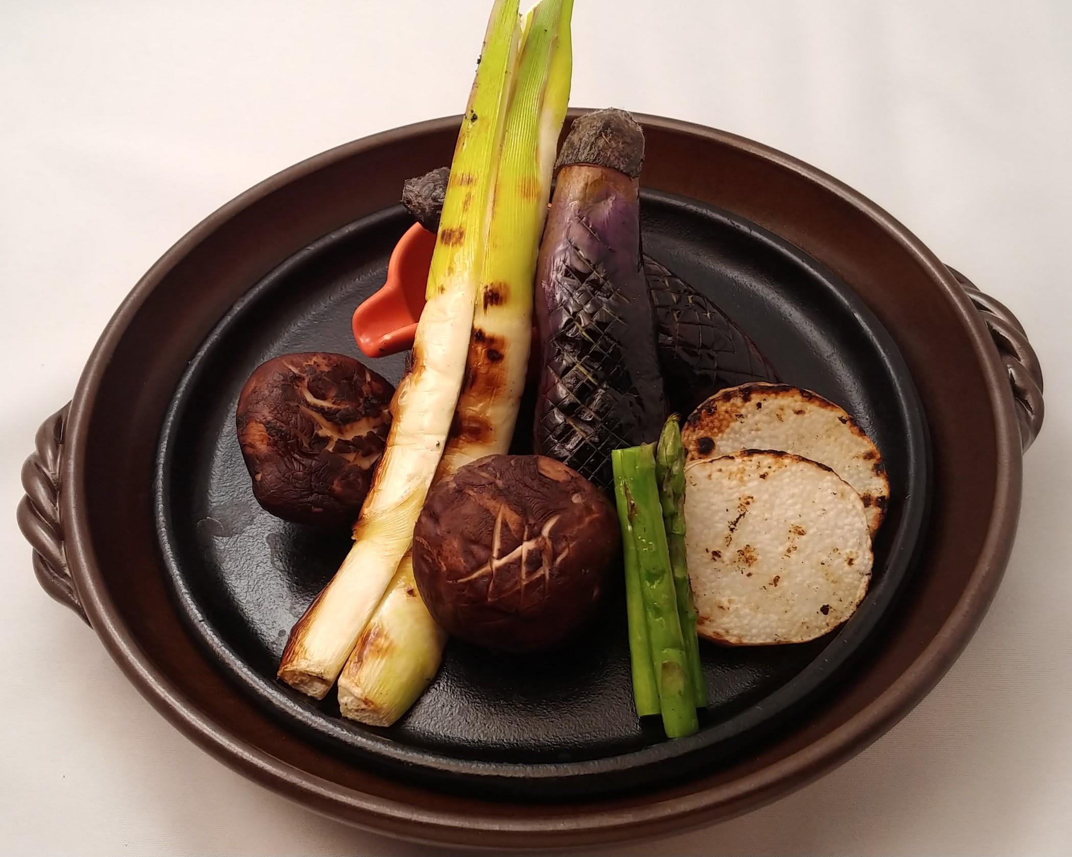 焼き野菜盛合せ
