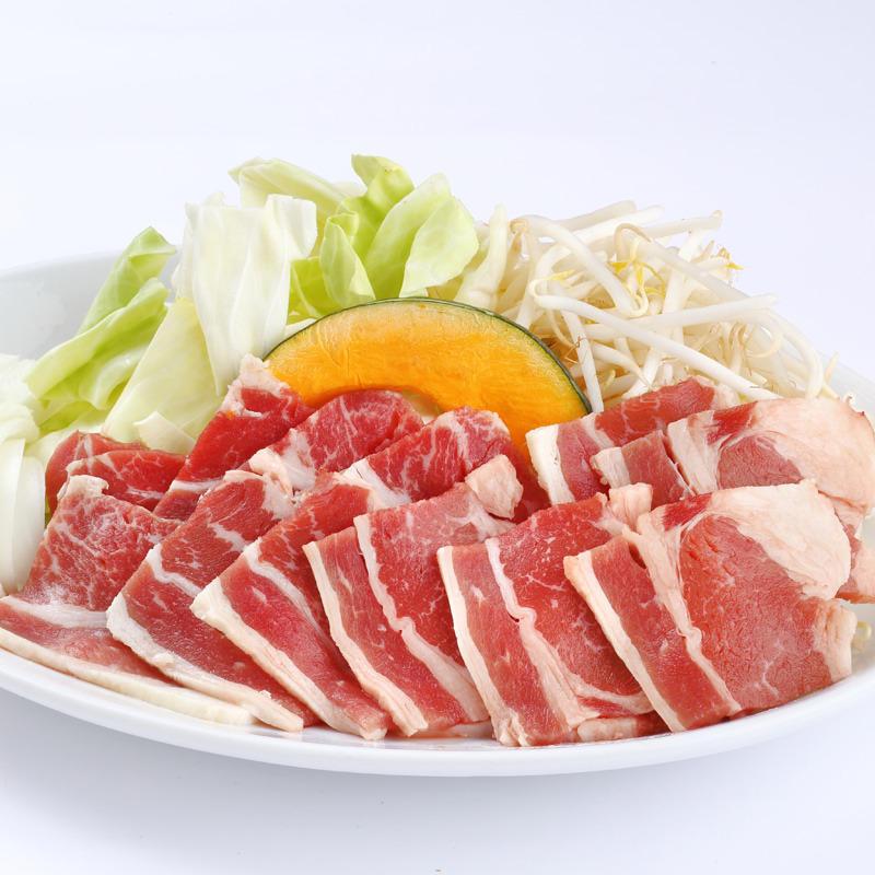 牛肉カルビ野菜セット