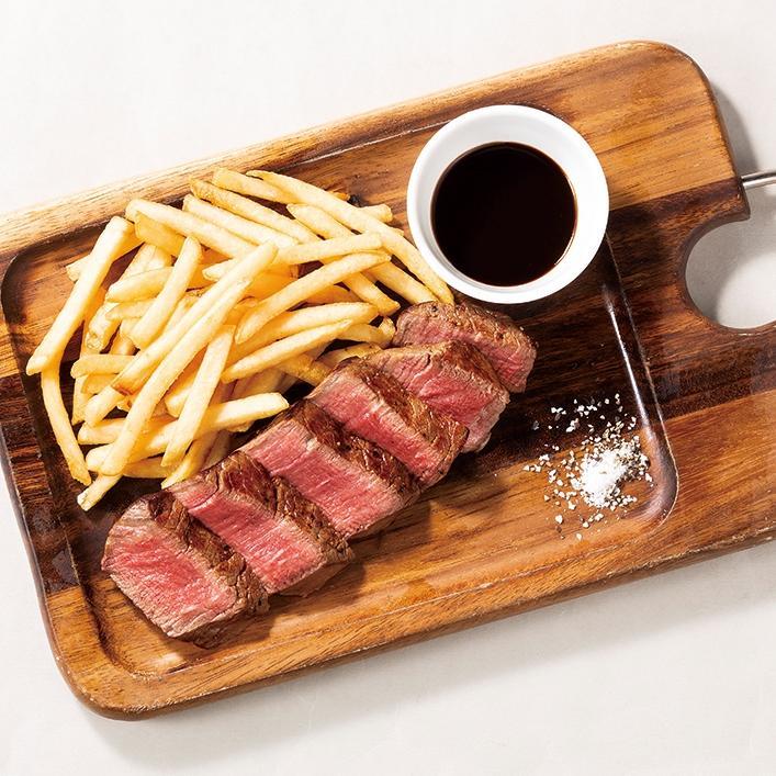 牛フィレのステーキ ガストリックソース