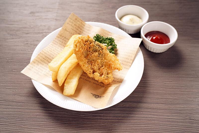 フィッシュ&チップス(ホッケ)