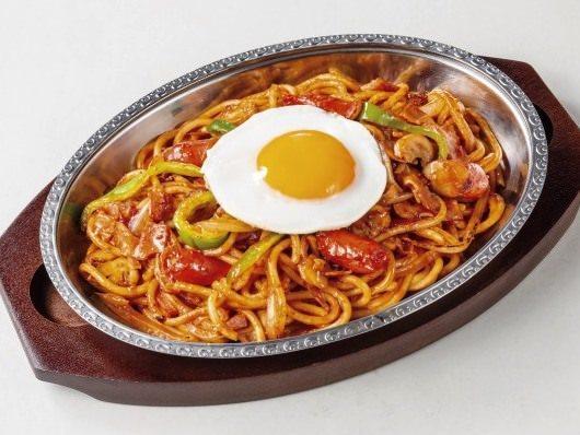 炒めスパゲティ~ナポリタン