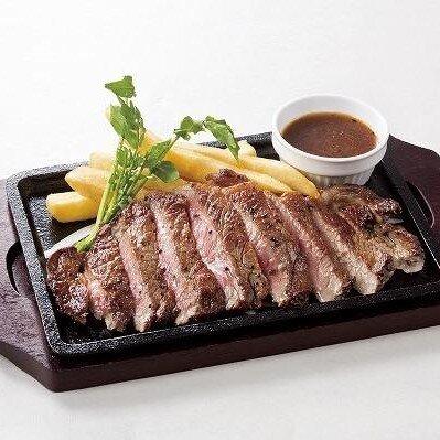 黒毛アンガス牛サーロインステーキ