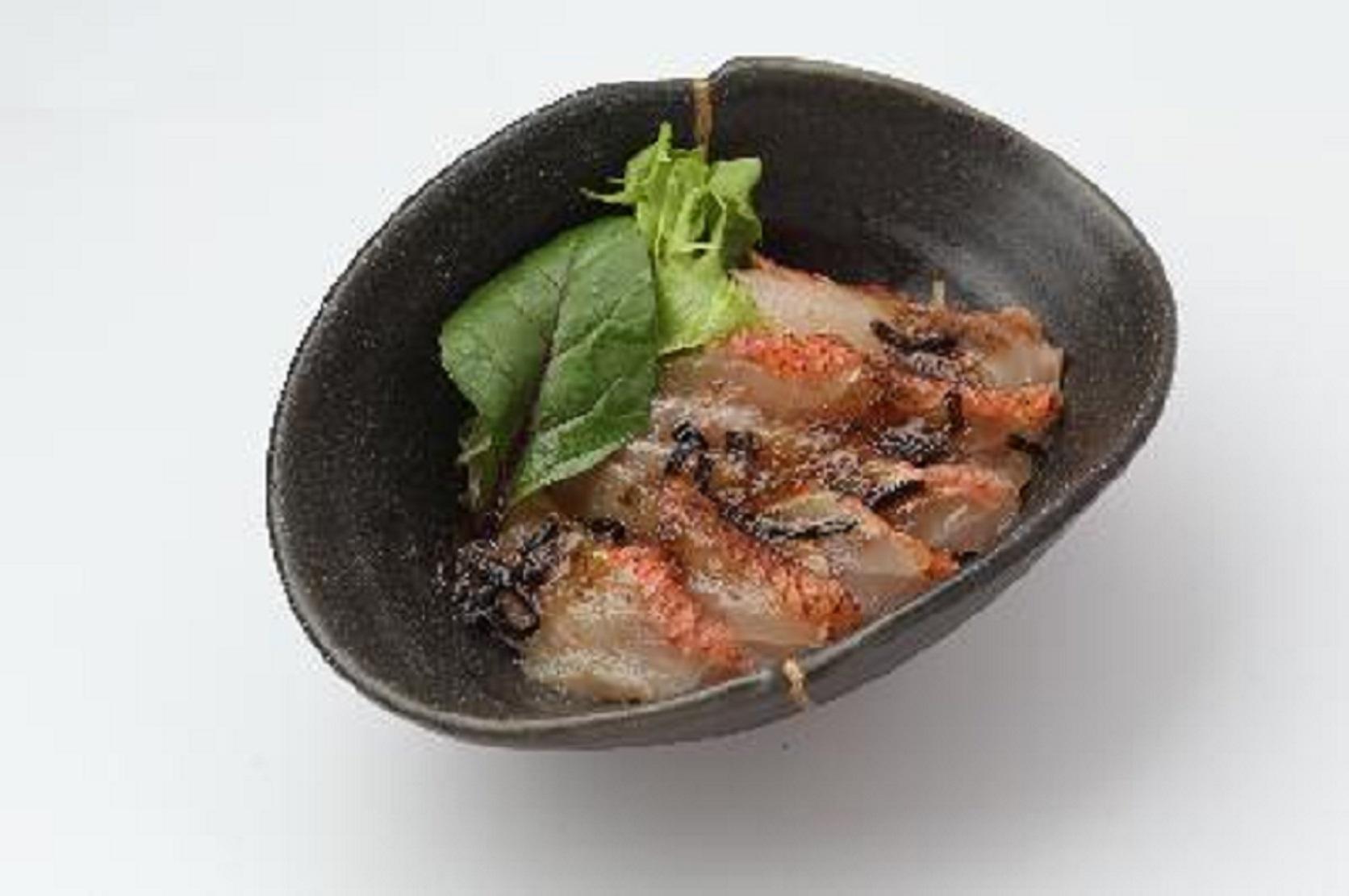 炙り金目鯛の塩昆布和え