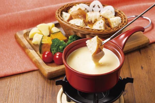 チーズフォンデュ~バゲット・スチーム野菜付~