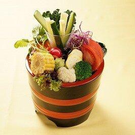 千歳の彩り桶サラダ