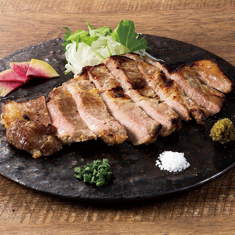 山形豚の塩麴焼き ~柚子胡椒添え~