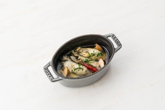 岡山県産牡蠣のアヒージョ