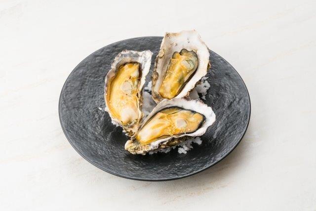広島県産牡蠣のオリーブオイル焼き