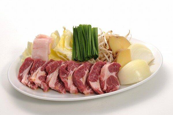 ラム肩ロースジンギスカン(焼き野菜付)