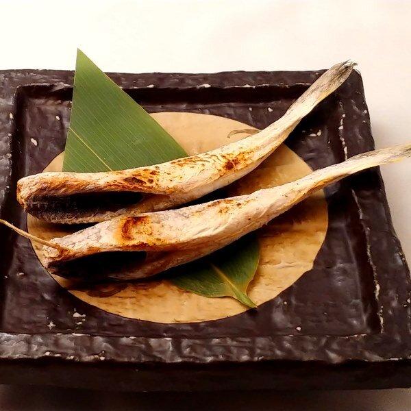 氷下魚の炙り焼き