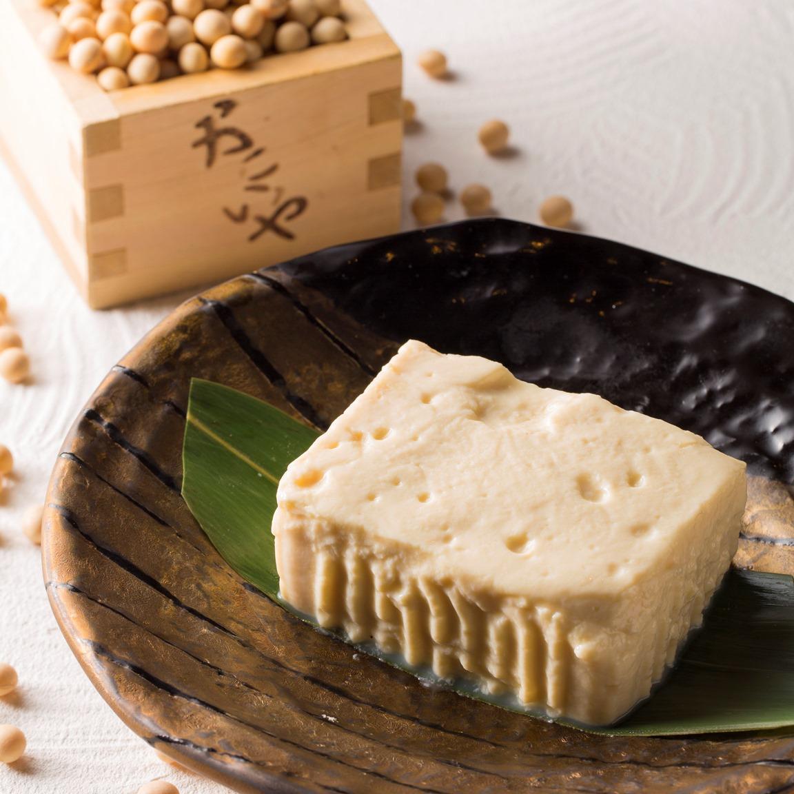 昭和9年創業「河口商店」より よせ豆腐