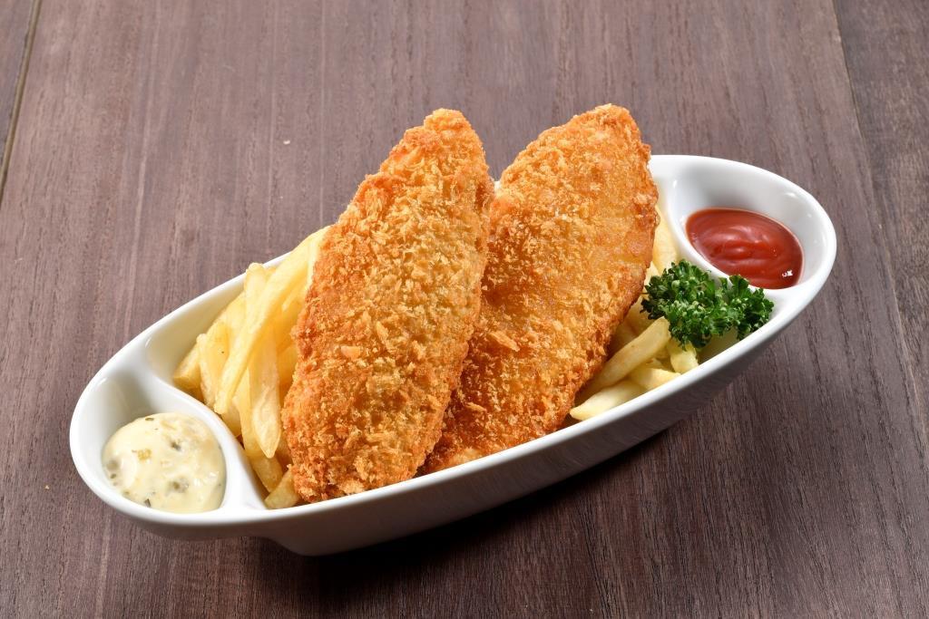 道産真鱈のフィッシュ&チップス