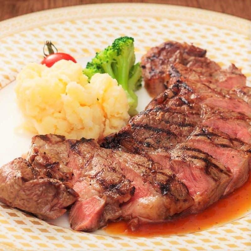 黒毛アンガス牛使用 サーロインステーキ