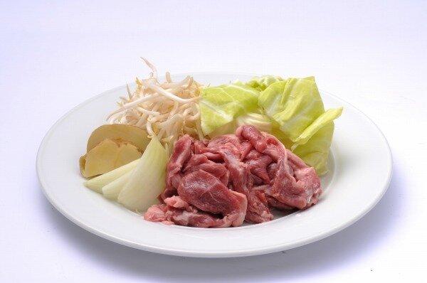 生ラムジンギスカン(焼き野菜付)