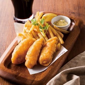 みかん鯛のフィッシュ&チップス