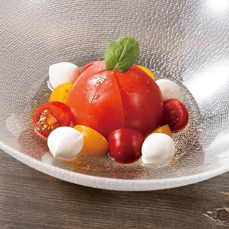 まるごとトマトのマリネ カプレーゼ風