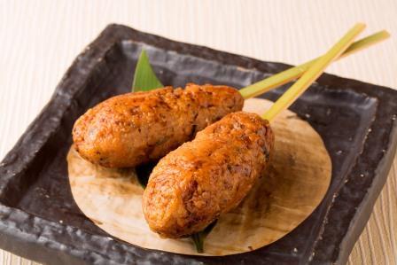 鶏つくねの串焼き(一本)