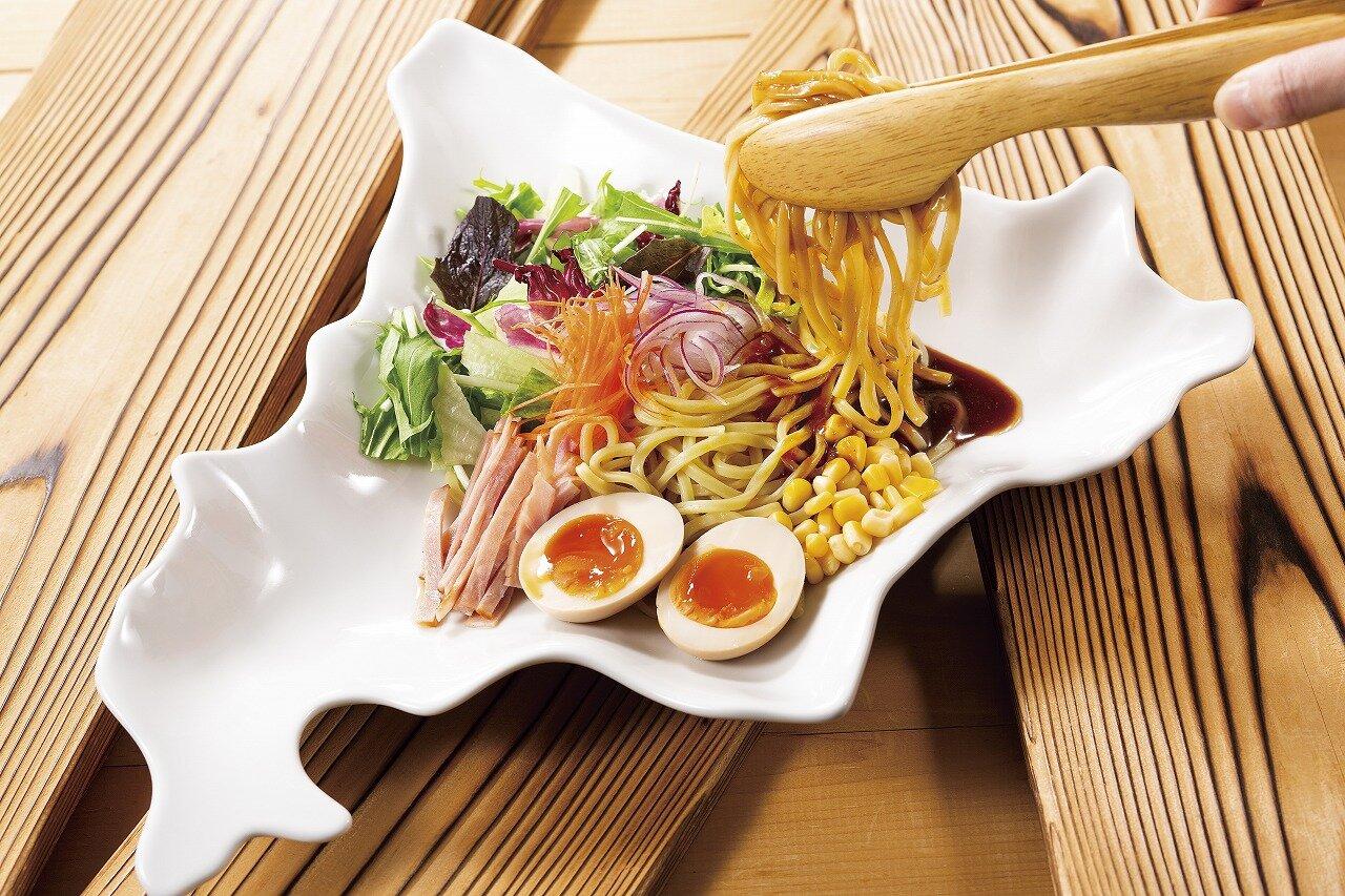 太麺ルルロッソ 冷やし混ぜ味噌