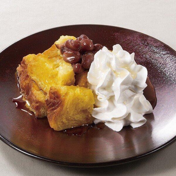 デニッシュパンのフレンチトースト