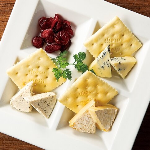 国産3種チーズの盛合せ