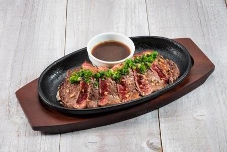 道産牛リブロースのカットステーキ