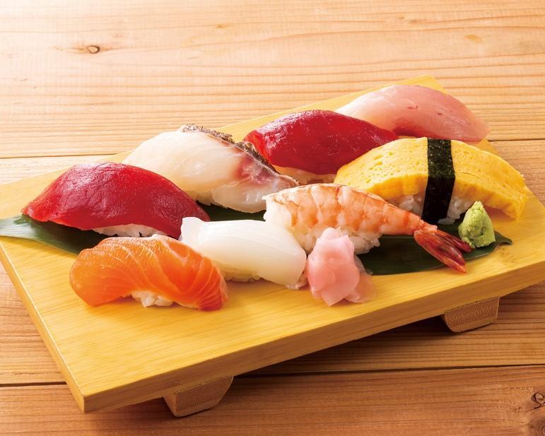 握り寿司 八貫