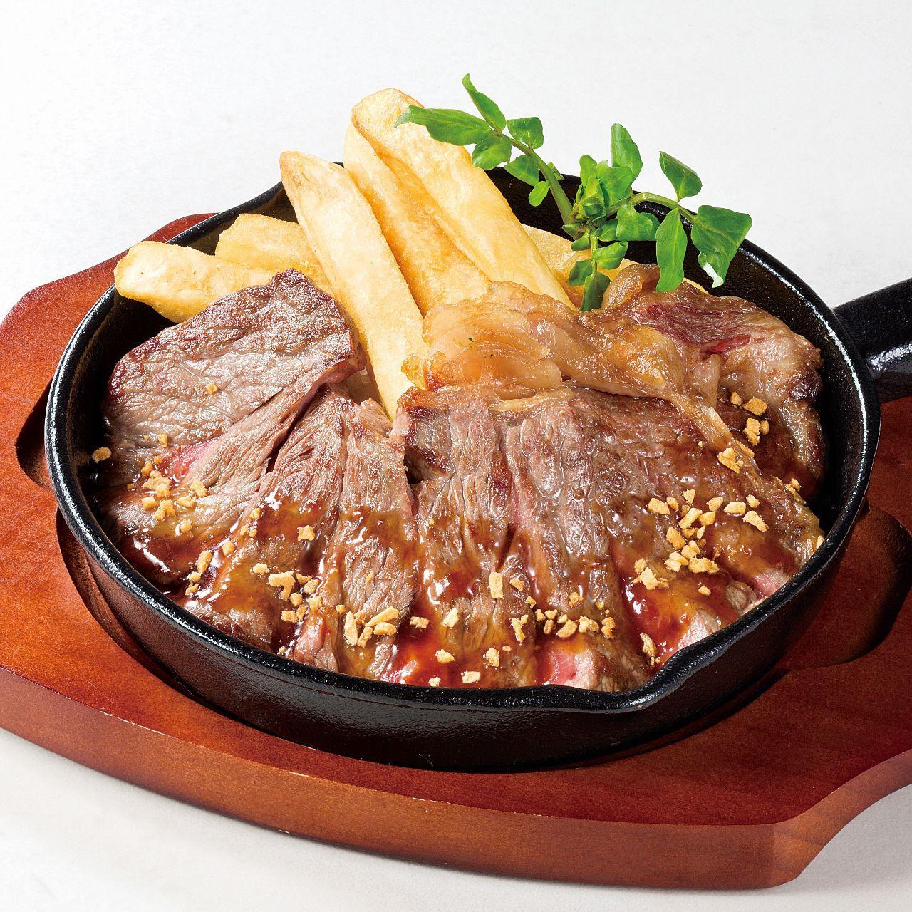 サーロインのおつまみステーキ (150g)