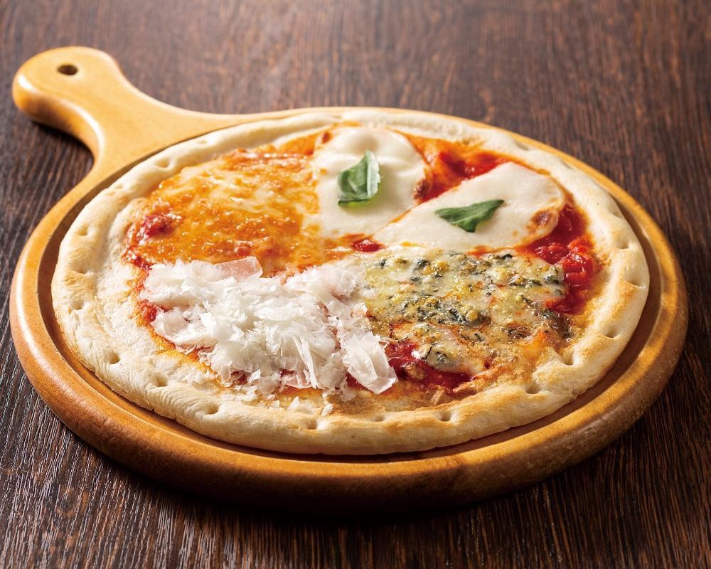 4種チーズのよくばりビザ