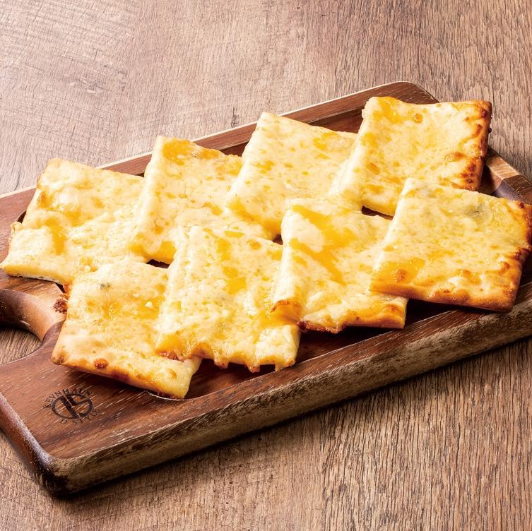 6種のチーズのスクエアピッツァ